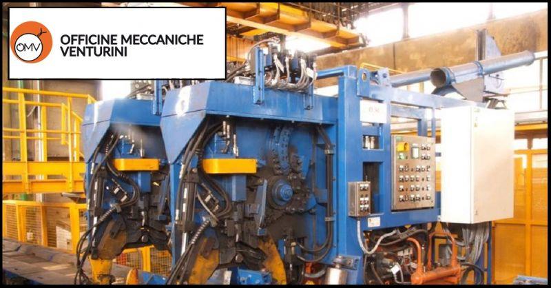 OMV Oferta de máquinas especiales para trenes de laminación - Promoción de máquinas especiales