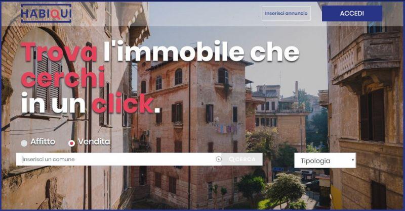 HABIQUI - OFFERTA RICERCA IMMOBILI CASE VILLE APPARTAMENTI IN VENDITA SU ROMA E PROVINCIA