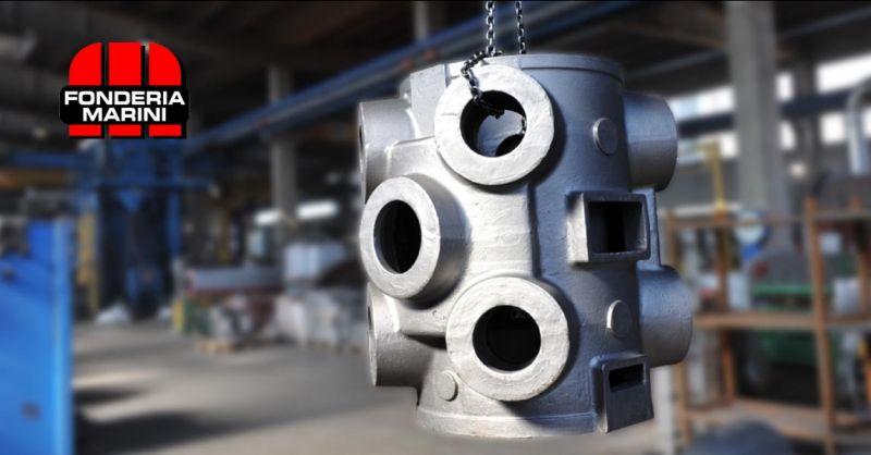 FONDERIA MARINI - Trova azienda italiana specializzata in fusione in ghisa lamellare