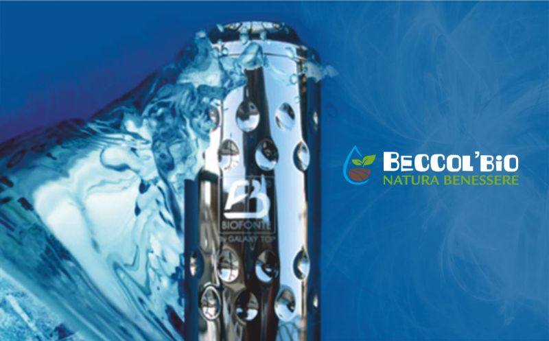 BECCOL BIO NATURA BENESSERE offerta biofonte - promozione acqua energizzata dinamizzata informata