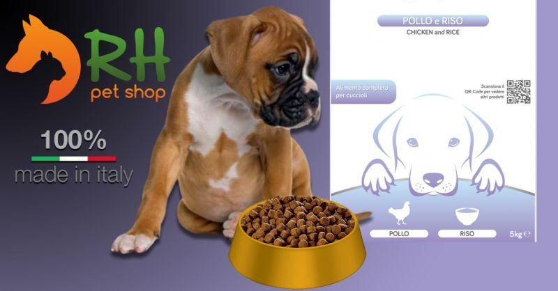 Offerta Crocchette Pollo e Riso per Cuccioli - Occasione Crocchette cuccioli con integrazione di erbe officinali