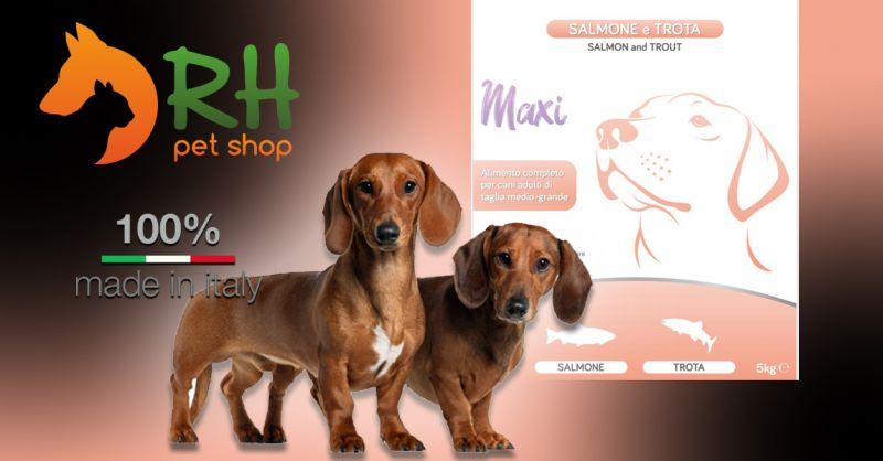 Offerta  Crocchette Salmone e Trota MAXI Grain Free - Occasione Migliori Crocchette per Cani allergici o con problemi cutanei